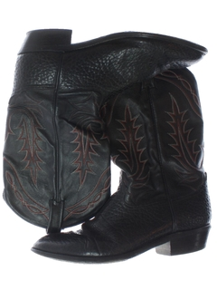 1980's Mens Accessories - Western Cowboy Boots