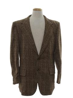 1970's Mens Disco Blazer Sportcoat Jacket