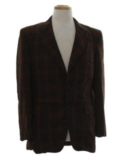 1970's Mens Mod Blazer Sportcoat Jacket