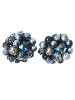 1960's Womens Accessories - Jewelry - Earrings