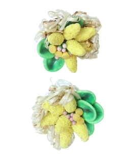 1960's Womens Accessories - Mod Jewelry - Earrings