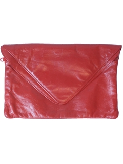 1980's Womens Accessories - Totally 80s Clutch Purse