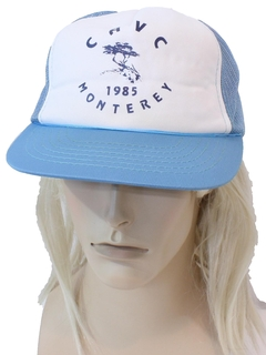 1980's Mens Accessories - Trucker Baseball Hat