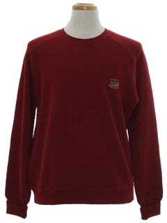 1990's Mens Alpaca Golf Sweater