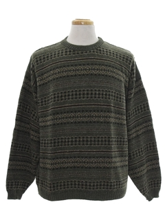 1980's Mens Totally 80s Designer Cosby Style Sweater