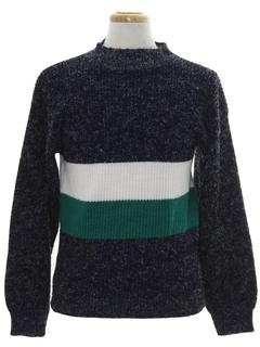 1980's Unisex Mod Ski Sweater