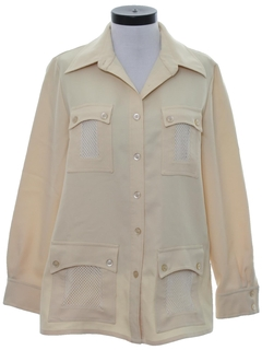 1970's Womens Mod Leisure Shirt Jacket