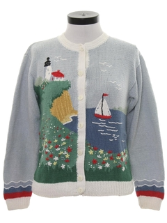 1990's Womens Cheesy Kitschy Ugly Sweater
