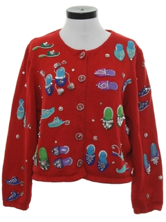 1990's Womens Designer Kitschy Sweater