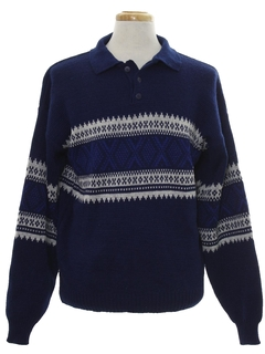 1990's Mens Snowflake Sweater