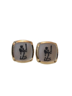 1960's Mens Accessories - Jewelry - Cufflinks