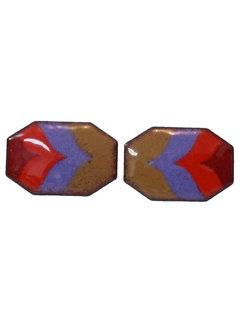 1950's Mens Accessories - Jewelry -  Cufflinks