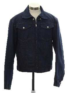 1960's Mens Mod Denim Jacket