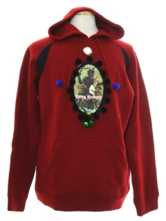 1990's Unisex Krampus Ugly Christmas Sweatshirt