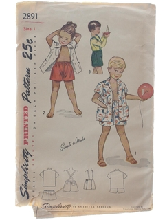 1940's Mens/Child Pattern