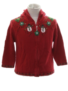 1980's Unisex/Childs Ugly Christmas Sweater