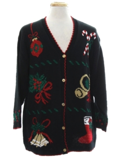 1980's Unisex Ugly Christmas Cardigan Sweater