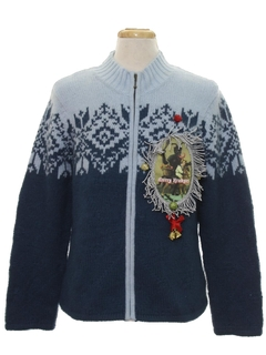 1990's Unisex Vintage Krampus Ugly Christmas Sweater