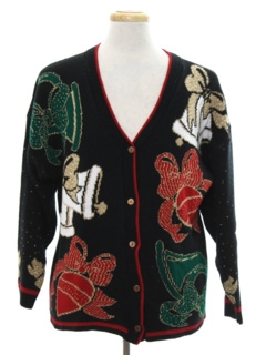 1980's Unisex Vintage Ugly Christmas Cardigan Sweater