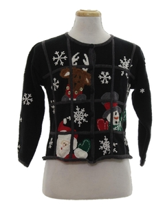 1990's Womens Vintage Ugly Christmas Sweater