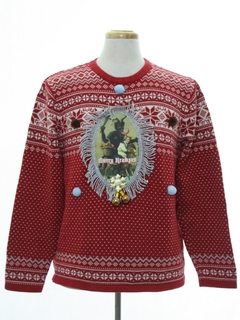 1990's Unisex Krampus Ugly Christmas Sweater