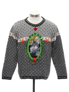 1990's Womens Catmus Ugly Christmas Sweater