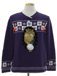1990's Unisex Catmus Ugly Christmas Sweater