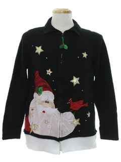 1990's Unisex Hand Embellished Ugly Christmas Sweater