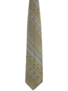 1970's Mens Designer Wide Disco Necktie