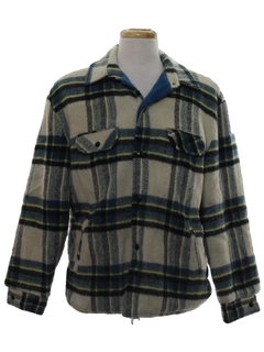 1960's Mens CPO Style Coat Jacket