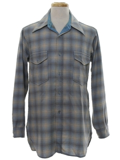 1960's Mens Pendleton Shirt