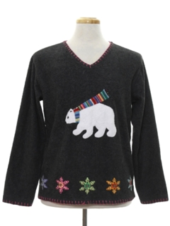 1990's Unisex Bear-Riffic Ugly Christmas Sweater