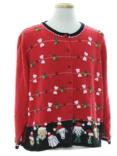 1990's Unisex Dog-gonnit Ugly Christmas Sweater