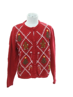 1980's Unisex Girls or Boys Ugly Christmas Sweater