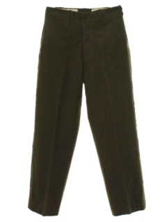 1940's Mens Fab Forties Military Uniform Pants