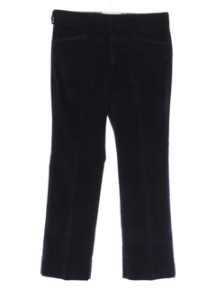 1970's Mens Corduroy Flared Leisure Pants