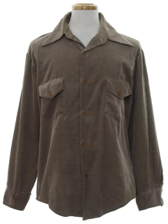 1970's Mens Corduroy Shirt