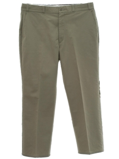 1960's Mens Uniform Flat Front Slacks Pants