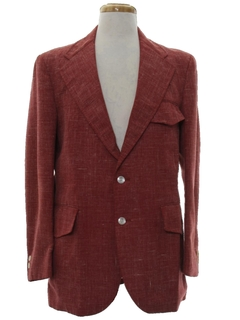 1970's Mens Mod Sport Coat Blazer Jacket
