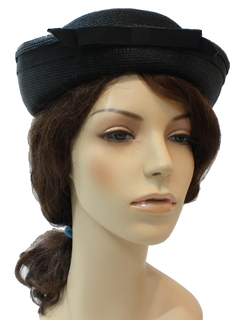 1960's Womens Accessories - Designer Hat