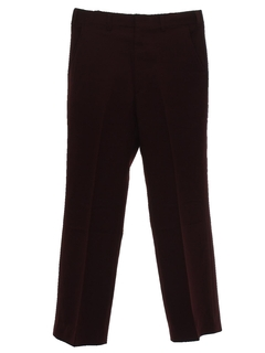 1970's Mens Flared Leg Disco Pants
