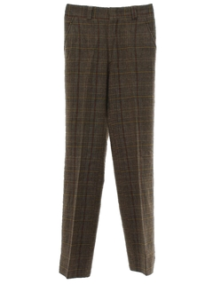 1970's Mens Wool Slacks Pants