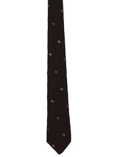 1950's Mens Skinny Necktie