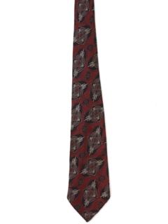 1930's Mens Stitched Necktie