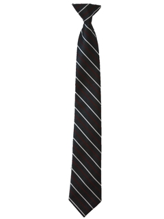 1980's Mens/Boys Clip-on Necktie