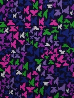 1960's Mod Barkcloth Fabric