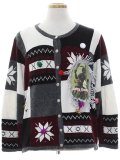 1980's Unisex Krampus Ugly Christmas Sweater