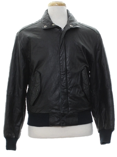 1980's Mens Members Only Leather Jacket
