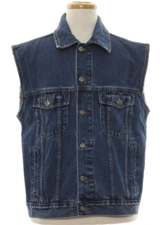 1990's Mens Denim Vest