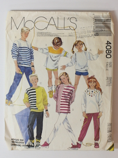 1980's Unisex/Childs Pattern